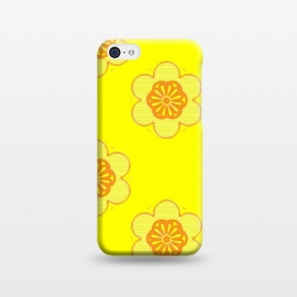 iPhone 5C  Flowerama by Bettie * Blue