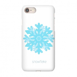 iPhone 8/7  Snowflake -light blue by Bettie * Blue