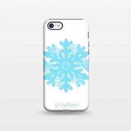 iPhone 5C  Snowflake -light blue by Bettie * Blue