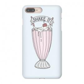 iPhone 8/7 plus  Shake It by  (Milkshake, Sweet, Retro, Illustration, Drink, Cherry, Typography, shake, fun, young)