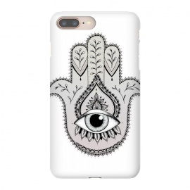 Hamsa Hand by Barlena (Hamsa, Hand, drawing, mandala, zentangle, nature, eye, power, middle-east, indian, spiritual, cultural, black, symmetry)