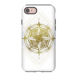 iPhone 8/7  Golden Compass by Barlena