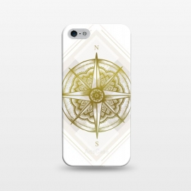 iPhone 5/5E/5s  Golden Compass by Barlena
