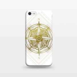 iPhone 5C  Golden Compass by Barlena