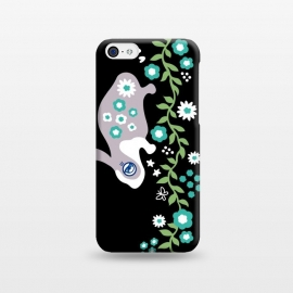 iPhone 5C  Rabbit in Garden by Michael Cheung