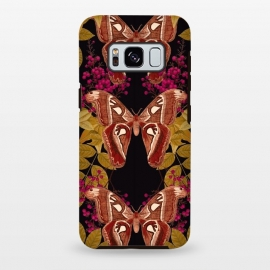 Galaxy S8 plus  Moth Jungle by