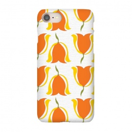 iPhone 8/7  Tulips d'Orange by Bettie * Blue