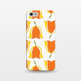 iPhone 5/5E/5s  Tulips d'Orange by Bettie * Blue