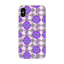 iPhone X  Purple Shmurple by Bettie * Blue