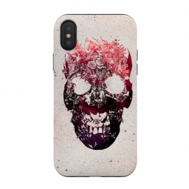iPhone Xs / X  Floral Skull by  ()