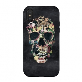 iPhone Xs / X  Vintage Skull by  ()