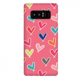 Galaxy Note 8  Pink Blow Me One Last Kiss by Rosie Simons ()