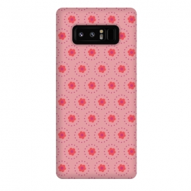 Galaxy Note 8  Pink Circular Floral by  ()