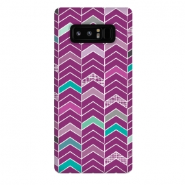 Galaxy Note 8  Chevron Purple by  ()