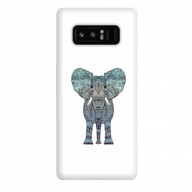 Galaxy Note 8  Elephant Blue by Monika Strigel ()