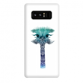 Galaxy Note 8  Ostrich Strigel Blue Mint by Monika Strigel ()
