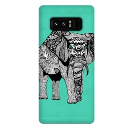 Galaxy Note 8  Elephant of Namibia by Pom Graphic Design