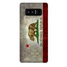 Galaxy Note 8  California Republic State by  ()