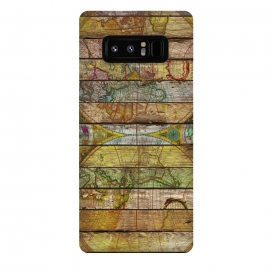 Galaxy Note 8  AROUND THE WORLD IN THIRTEEN MAPS by Diego Tirigall ()