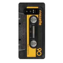 Galaxy Note 8  CASSETTE YELLOW by Diego Tirigall ()