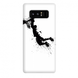 Galaxy Note 8  Basketballer 2 ink Large by Richard Eijkenbroek