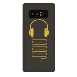 Galaxy Note 8  GOLD HEADPHONES by  ()