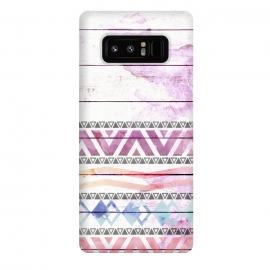 Galaxy Note 8  Aztec Wood Watercolor by Girly Trend ()