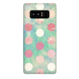 Galaxy Note 8  Polka Dots Watercolor Front by Girly Trend ()