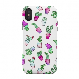 Whimsical Hand Drawn cactus pattern  by Girly Trend ()