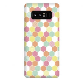 Galaxy Note 8  Geo Hex by Alice Perry Designs ()