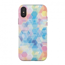 iPhone Xs / X  Hexagons by M.O.K. ()