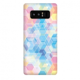Galaxy Note 8  Hexagons by M.O.K.
