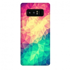 Galaxy Note 8  MultiColor Cubizm Painting by Philipp Rietz ()