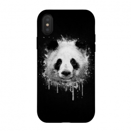 Panda Portrait in Black White by Philipp Rietz ()