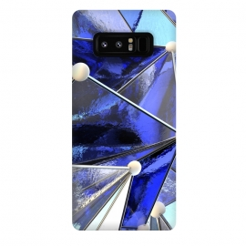 Galaxy Note 8  Blue Glass by Adoryanti ()