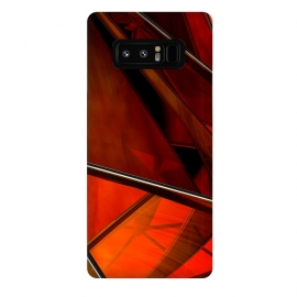 Galaxy Note 8  Red Plexus by Adoryanti ()