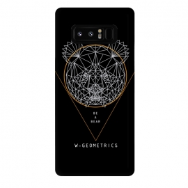 Galaxy Note 8  Bear Black by W-Geometrics