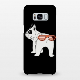 Galaxy S8+  Dog second face by Coffee Man (dog, dogs, pet, petslover, funny, glasses, animals, cute, adorable,pug, face)