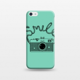 iPhone 5C  Smile by Coffee Man (camera, photo, vintage, photographer, smile, funny, cute, adorable, lettering)
