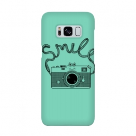 Smile by Coffee Man (camera, photo, vintage, photographer, smile, funny, cute, adorable, lettering)