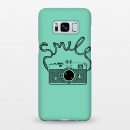 Galaxy S8+  Smile by Coffee Man (camera, photo, vintage, photographer, smile, funny, cute, adorable, lettering)