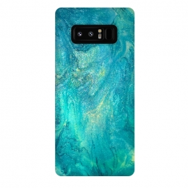 Galaxy Note 8  Sea Stone by Ashley Camille ()