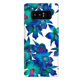 Galaxy Note 8  Oceanic Orchid Fascination by Amaya Brydon ()