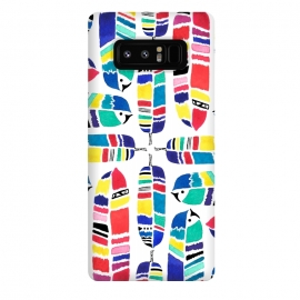Galaxy Note 8  Tribal Feathers by  ()