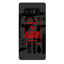 Galaxy Note 8  In case of zombies break glass by Mitxel Gonzalez ()