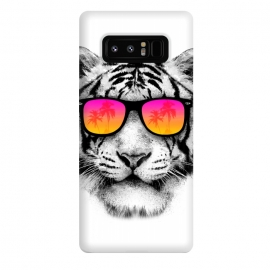 Galaxy Note 8  The Coolest Tiger by Mitxel Gonzalez (tiger,cool, tigre,beach,summer,coolest,funny,big cat,cat)