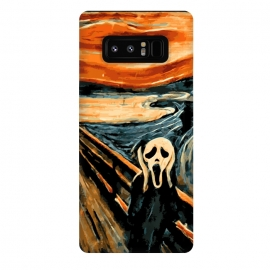 Galaxy Note 8  The Scream by Mitxel Gonzalez ()