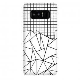 Galaxy Note 8  AB Grid White by Project M ()