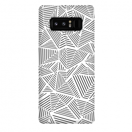 Galaxy Note 8  AB Linear White by Project M ()