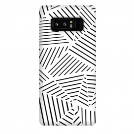 Galaxy Note 8  AB Linear Zoom White by